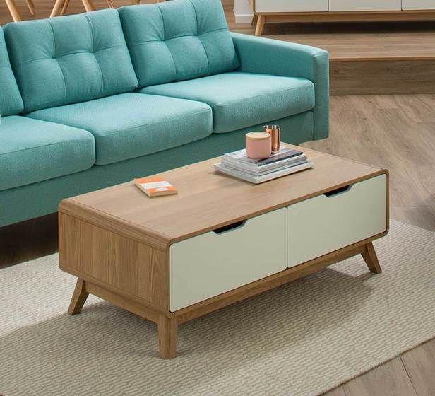 Retro Coffee Table Living Room