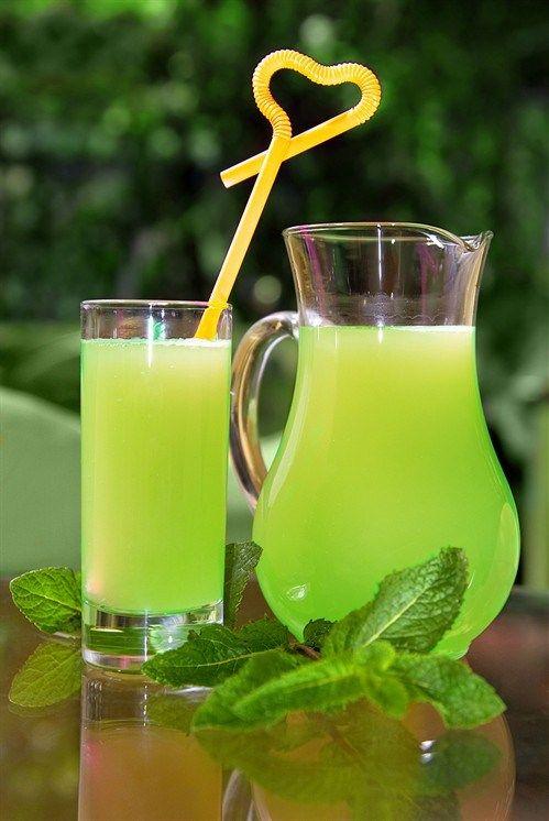 Зеленый лимонад