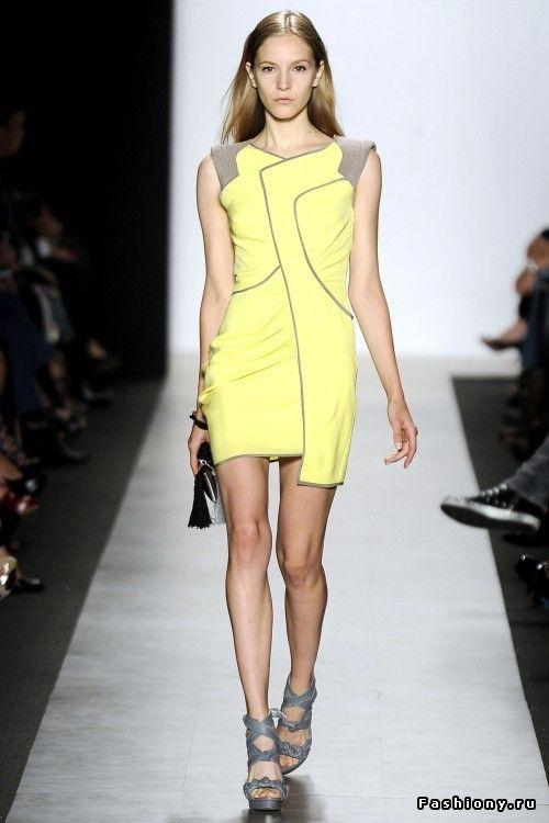 Маленькое или большое, но желтое платье / красивые платья летние