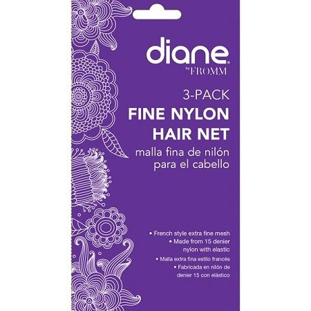 Diane Fine Nylon Hair Net 3 Pack - Black #D19606 $0.90 Visit www.BarberSalon.com One stop shopping for Professional Barber Supplies, Salon Supplies, Hair & Wigs, Professional Product. GUARANTEE LOW PRICES!!! #barbersupply #barbersupplies #salonsupply #salonsupplies #beautysupply #beautysupplies #barber #salon #hair #wig #deals #sales #Diane #Fine #Nylon #HairNet #3Pack #Black #D19606
