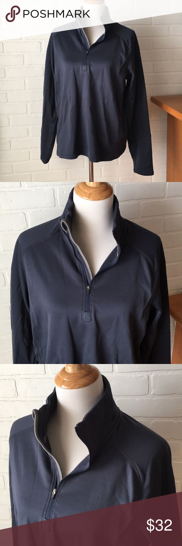 Timberland quarter zip Great condition, very warm. Has thumb holes and fleece interior. Only worn a few times. Timberland Shirts Sweatshirts & Hoodies