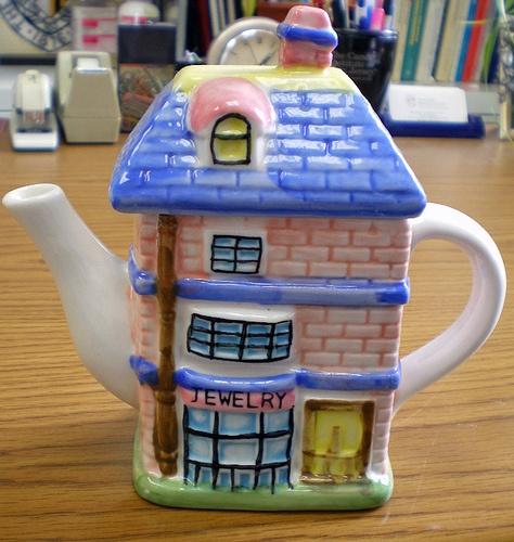 Store tea pot