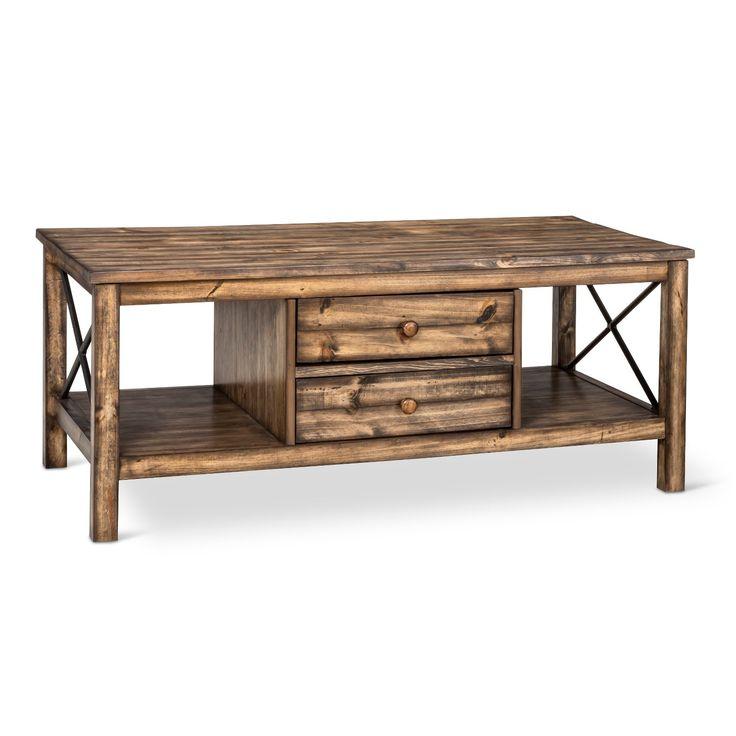 perdana coffee table brown integra