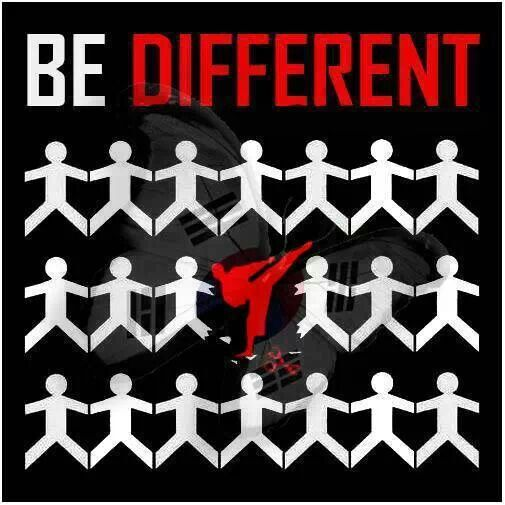 Be different taekwondo