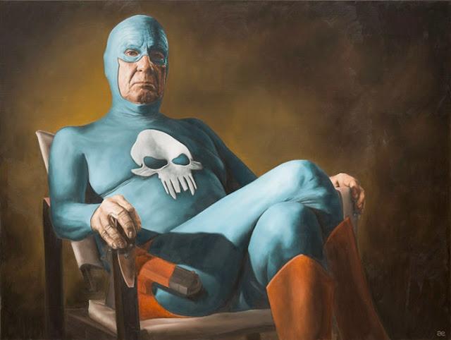 Andreas Englund und der gealterte Superheld ( 10 Bilder )