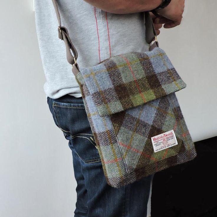 The Craggan, men's messenger bag. iPad bag. manbag | Craftsy