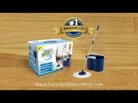 Mop, cleaning, spin mop, Twist and Shout Mop --> http://youtu.be/DLezvQmgsLo