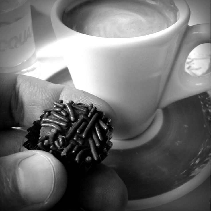 Coffee and brigadeiro