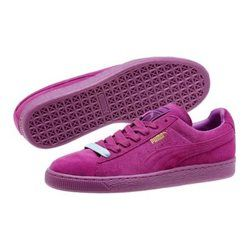 Chaussures Puma Suede Mauve Mono Iced Basket PUMA - Chaussures