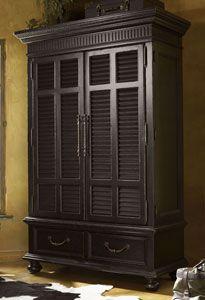 Tommy Bahama Home Kingstown Trafalgar Armoire by Lexington Home Brands
