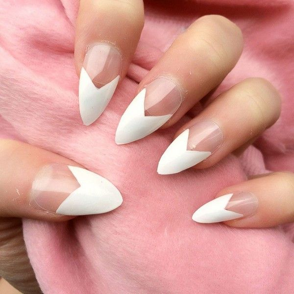35 Stunning Pointy Nail Designs That You Want To Try - Gravetics