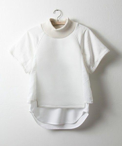 NON TOKYO(ノントーキョー)の2015秋冬商品 LAYERD T-SHIRTS(Tシャツ/カットソー)|ホワイト:
