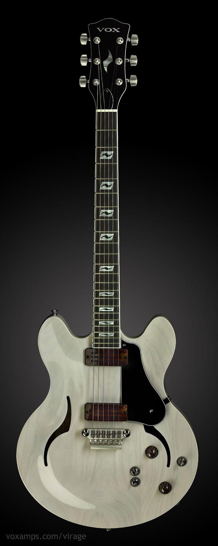 Dovetail template printable guitar - Vox Virage Guitar