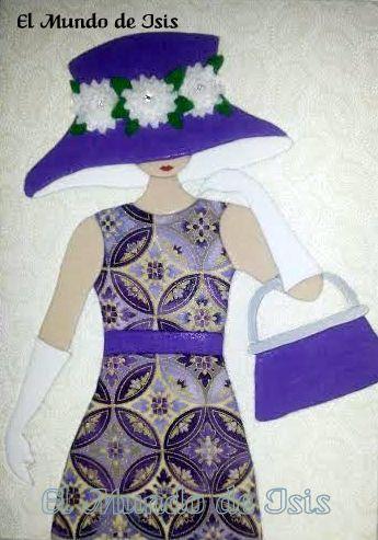 Dama con sombrero