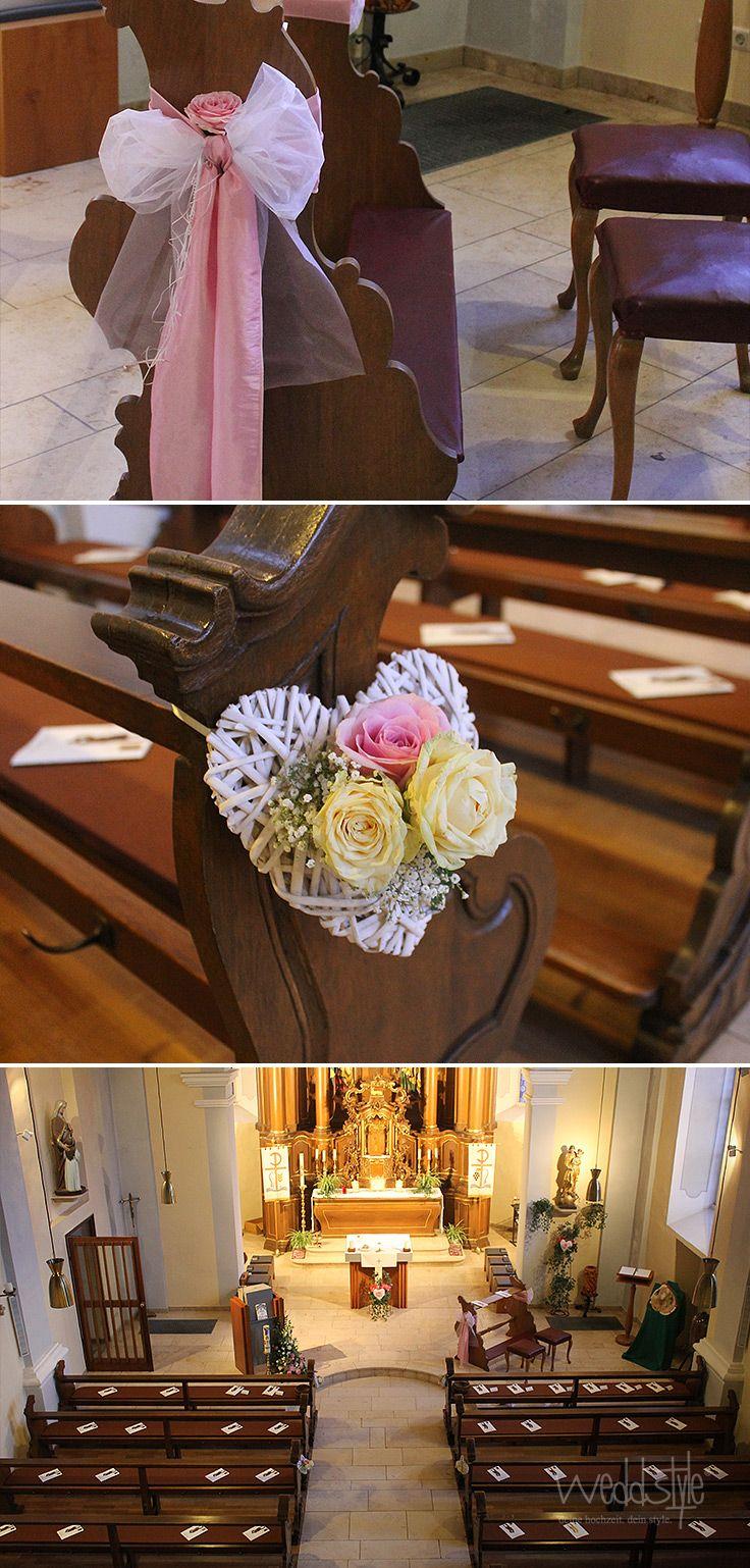 33 besten kirchendeko mieten bilder auf pinterest for Dekoration hochzeit kirche