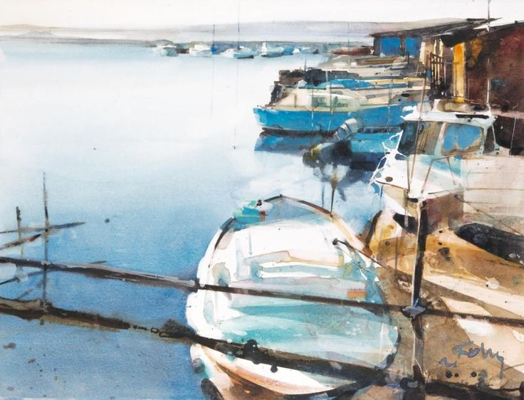 Folly Chants marins aquarelle