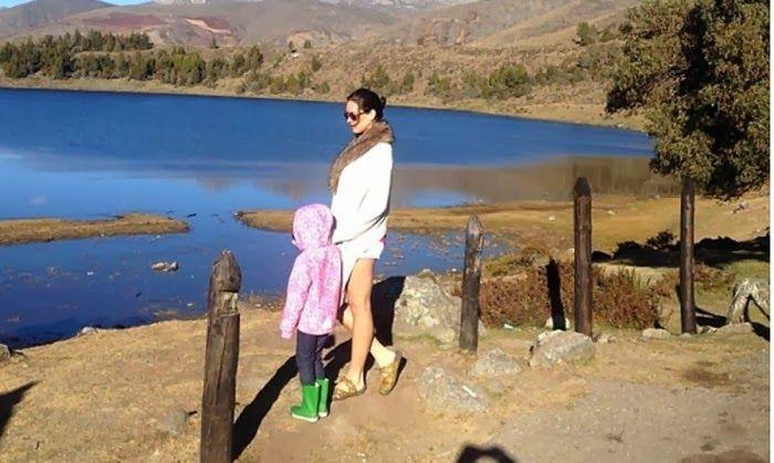 Lo que mis sentidos me regalan.   Mónica Spear y  su hija Maya MÓNICA SPEAR Y LA DESOLACIÓN POR LOS TIEMPOS QUE ESTOY VIVIENDO.