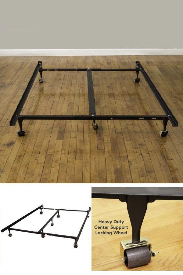 Fyi Adjustable Metal Bed Frame Twin Full Queen King Locking