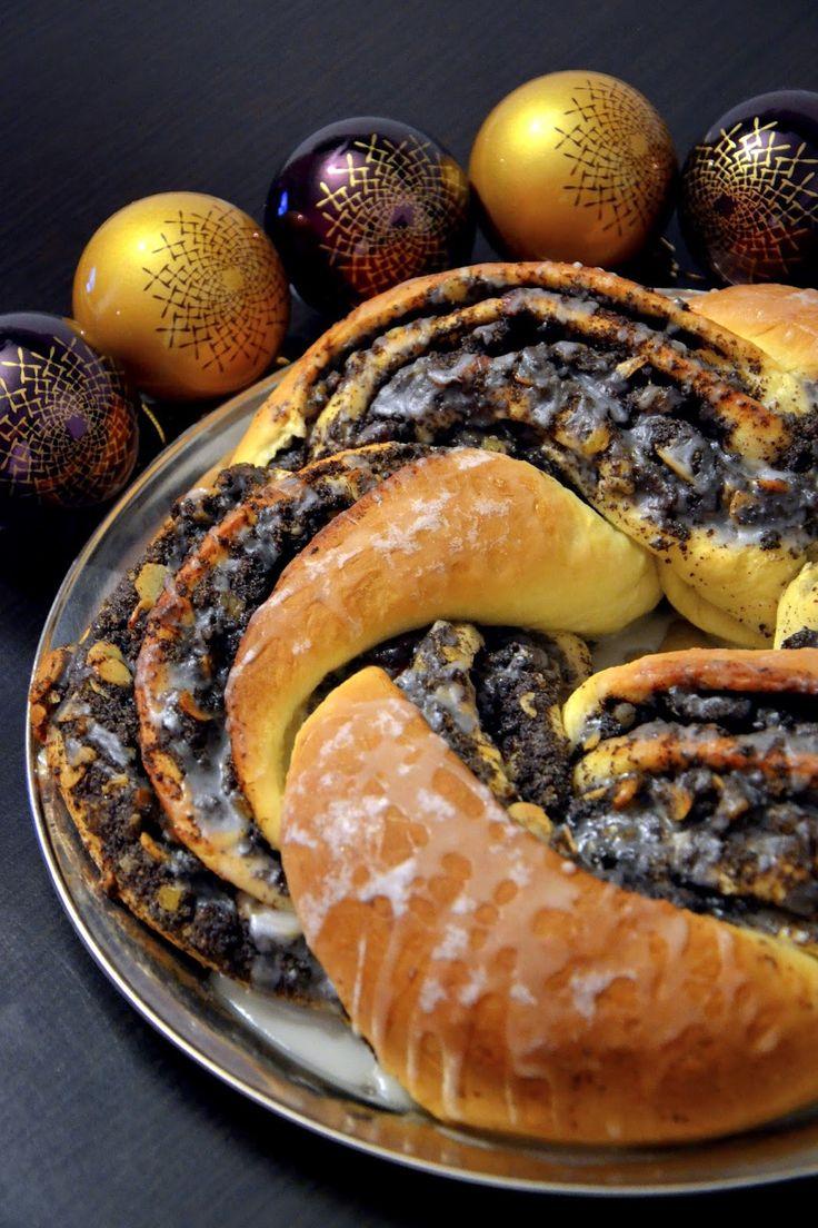 boże narodzenia, ciasto na wigilię, ciasto na święta, domowa masa makowa, makowiec, masa makowa, strucla makowa, święta, strucla z makiem