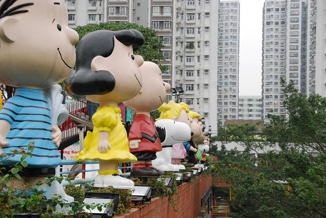 Snoopy Land at Sha Tin mall by SpirosK photography, via Flickr