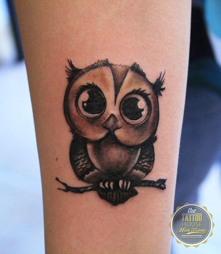 Owl tattoo by Melek Taştekin #owl #owltattoo #tattoo #baykuş #dövme #baykuşdövmesi #birdtattoo