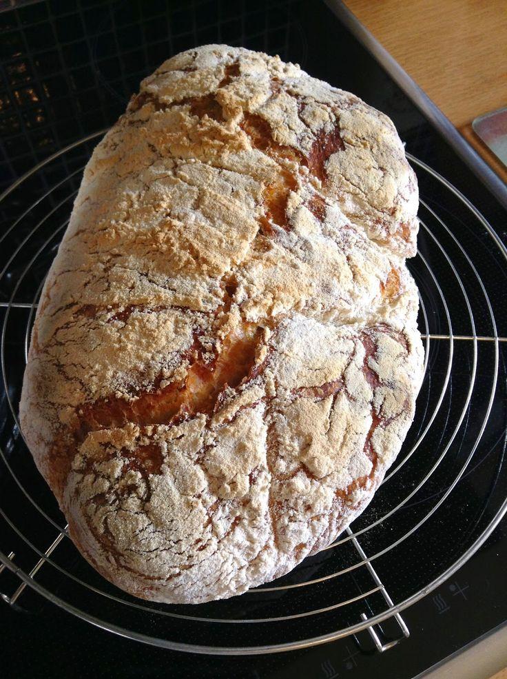 Το δικο μου ..Αυτόζυμο ψωμι...ΠΑΝΕΥΚΟΛΟ...!!!