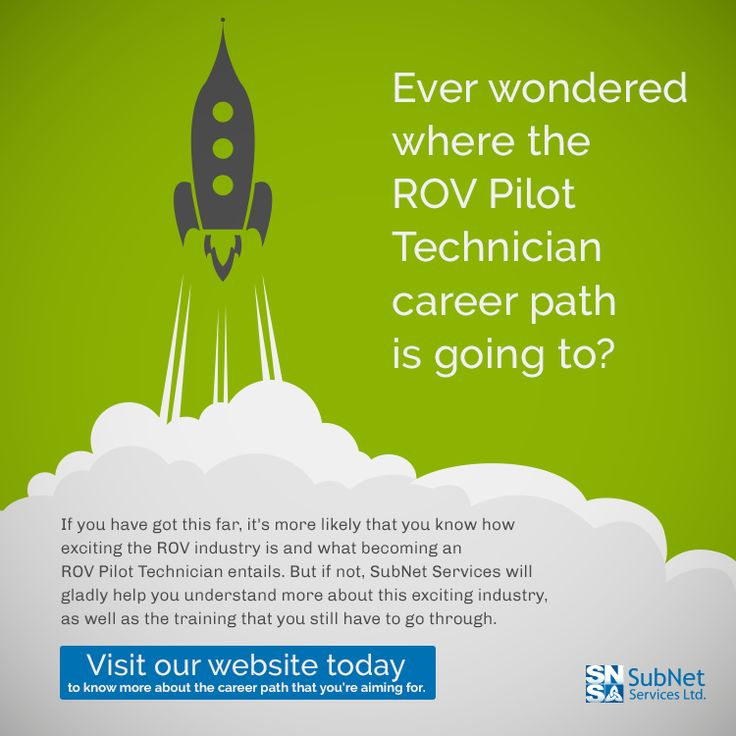 Ever wondered where the ROV Pilot Technician career path is going to? :) Visit our website today to know more about the career path that you're aiming for.  http://www.subnetservices.com/training/rov-pilot-career-path #ROV