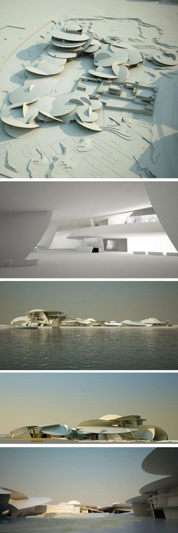 Qatar national museum. J. Nouvel