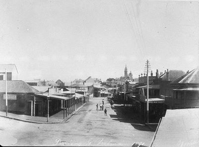Darling Street from East Balmain ... c 1890 ... Photographed by - James Mills ... sl.nsw History Sydney NSW
