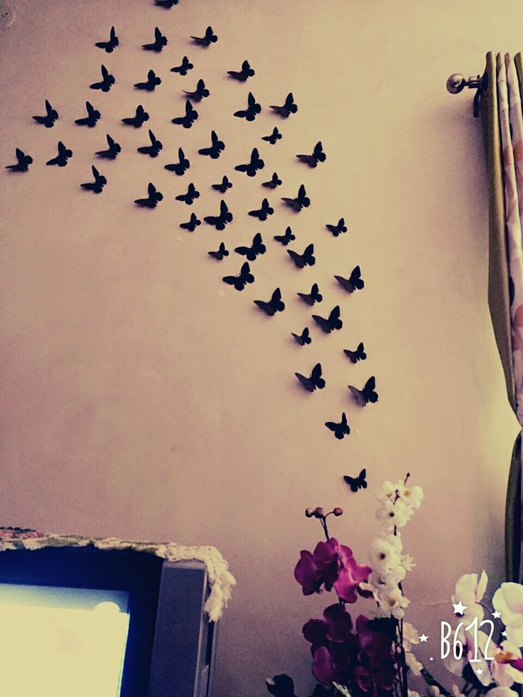 Butterfly paper craft ...wall Decor... 😘