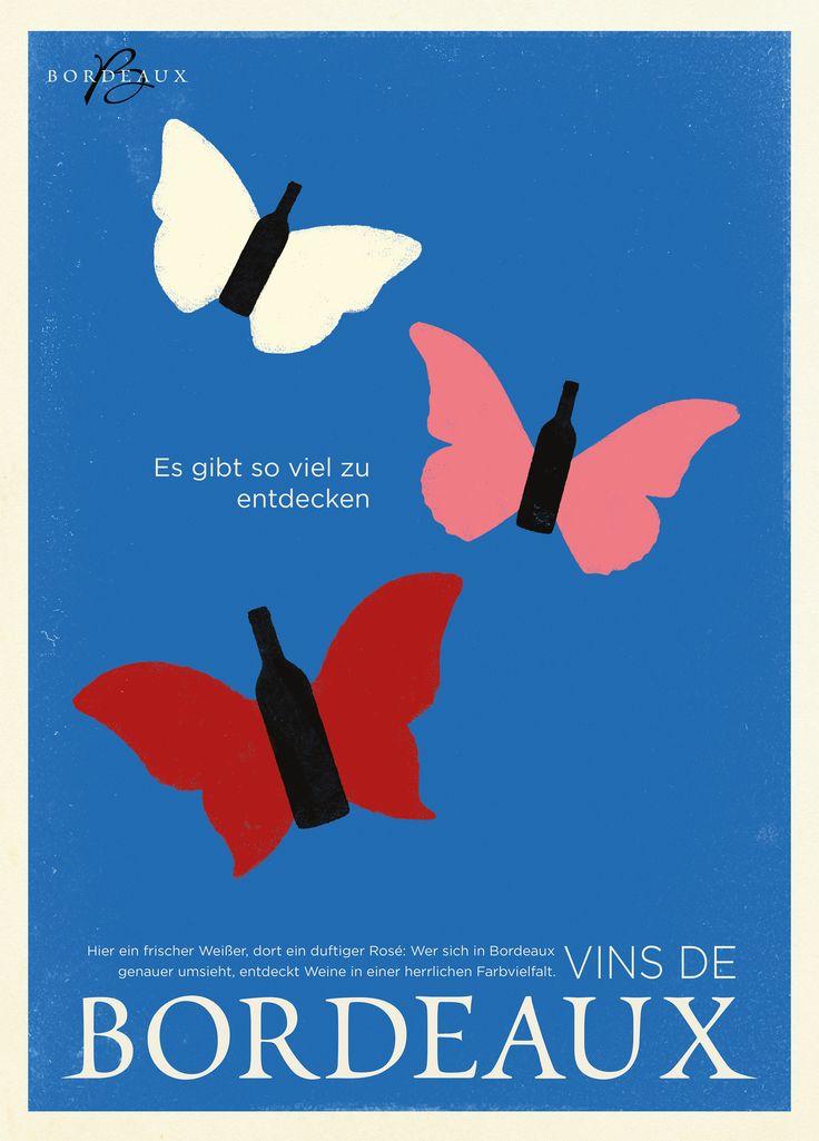 Unsere Weinfarben - hier ein frischer Weißer, dort ein duftiger Rosé: Wer sich in #Bordeaux umsieht, entdeckt Weine in einer herrlichen Farbvielfalt #Weinfarben #Weißwein #Wein #Rosé #Rot #Farben #Farbvielfalt #weiß #Aromen
