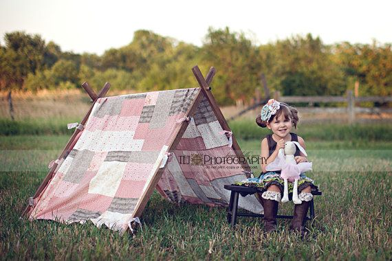 Custom Patchwork Tent  Photography Prop by VintagePrettiesbyEMA, $175.00