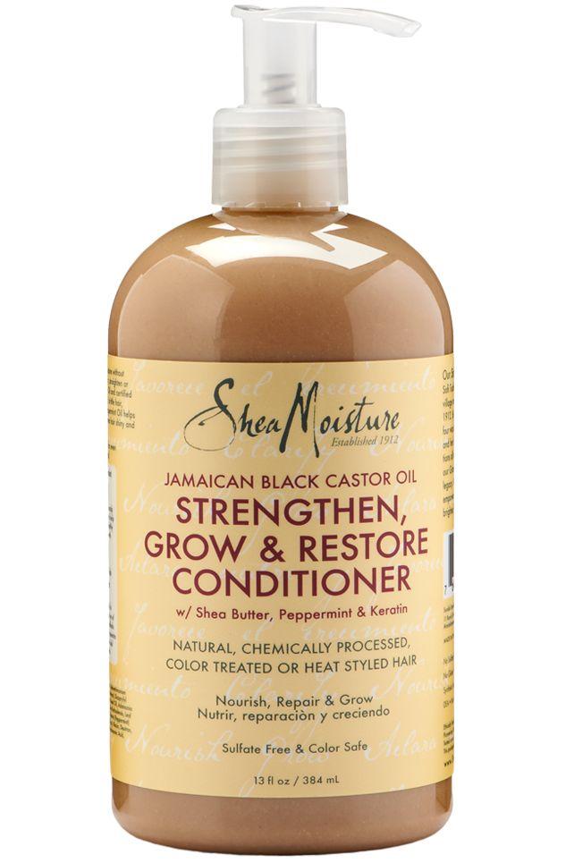 Shea Moisture Jamaican Black Castor Oil Strengthen, Grow & Restore Conditioner 13 Ounce
