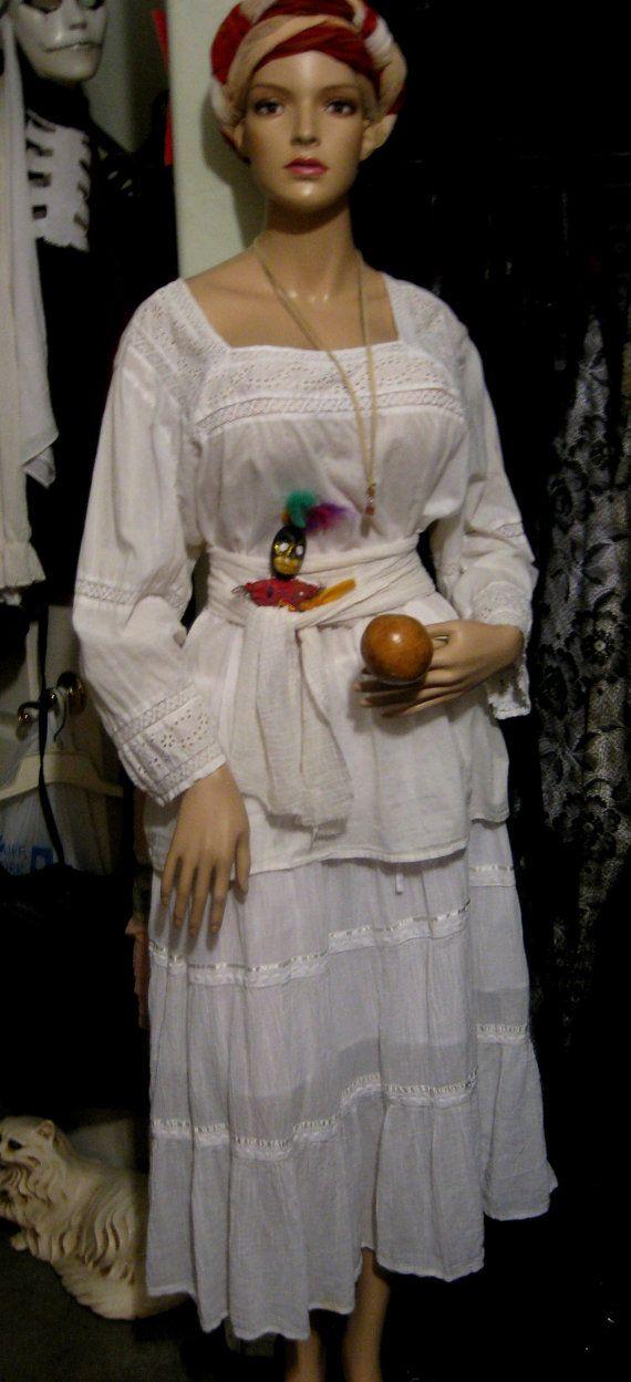 Handmade Voodoo Queen of New Orleans Marie by ArtdollImaginarium