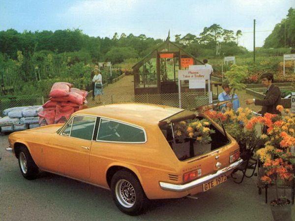 1972 Reliant Scimitar.