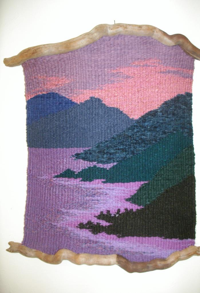 Wood 'n I Weavings : Thalia Truesdell                                                                                                                                                                                 Más