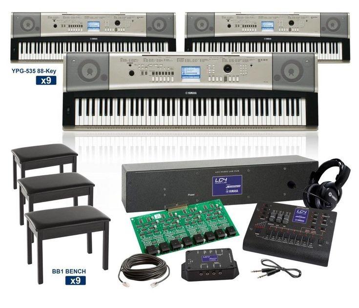 Yamaha YPG-535 88-Key Grand LC4 Keyboard Lab