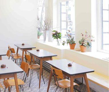 La cantine du nouveau concept-store branché du Marais The bronken arm 12 rue perree 75003 Paris