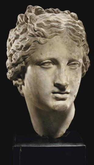 Venus. Diosa romana. En un principio diosa de la naturaleza  y de la primavera que por influencia griega fue asimilada como la diosa de la belleza y el amor en alusión a Afrodita.