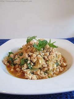 Inato lang Filipino Cuisine and More: LARB MOO (SPICY PORK SALAD)