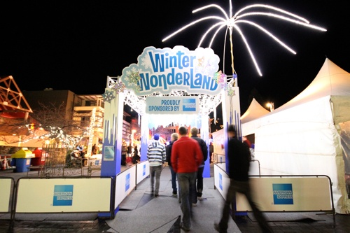 American Express Winter Wonderland Ice Rink - The village green comes alive with the magic of WinterFest