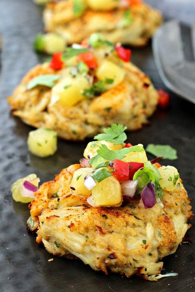 Pure, unadulterated crab cake goodness topped with a colorful salsa that's bursting with flavor- it's the perfect summer entertaining dish! I received free samples of Zespri SunGold Kiwifruit mentioned in this post. By posting this recipe I am entering a recipe contest sponsored by Zespri Kiwifruit and am eligible to win prizes associated with the …