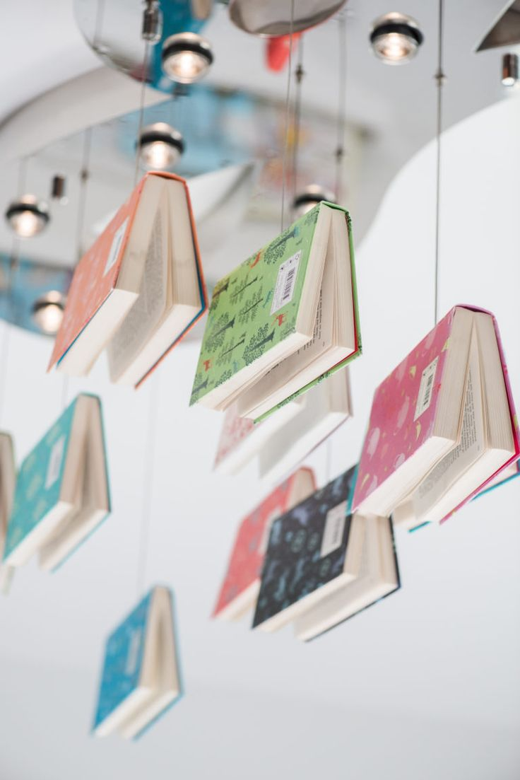 Diy Book Chandelier The More That You Read The More Things You Will Know