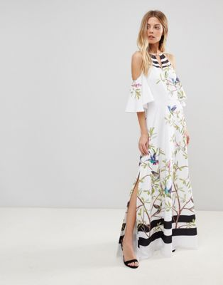 7d1996021b83d Ted Baker Yarpa Maxi Dress in Highgrove Print. Discover Fashion Online Ted  Baker ...