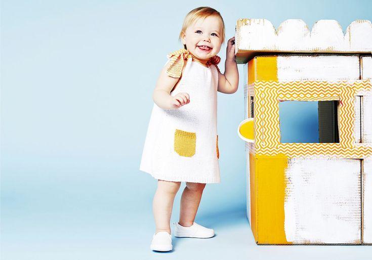 Näin neulot vauvan mekon | Kodin Kuvalehti