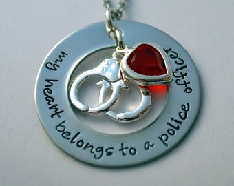Necklace for cop wife