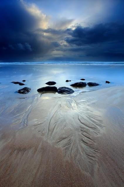 Reys Beach, Stanley, Tasmania, Australia.