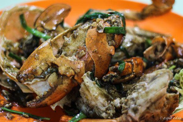 Black pepper crab, Singapore | Expat Edna
