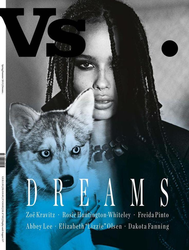 Vs Magazine SS 2015 Cover ZoeKravitz