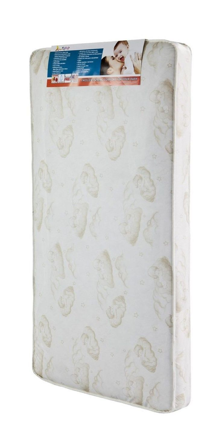 Dream On Me Spring Crib and Toddler Bed Mattress Twilight NO SALES TAX NEW